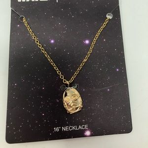LOVE AND MADNESS STAR WARS C-3PO CHARM NECKLACE